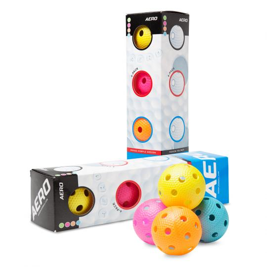 SALMING Aero Ball 4-pack